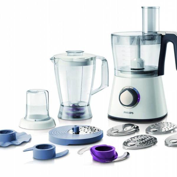 Philips Food Processor including 2.1L Bowl and Accessories for + 28 functions HR7761/01 750W