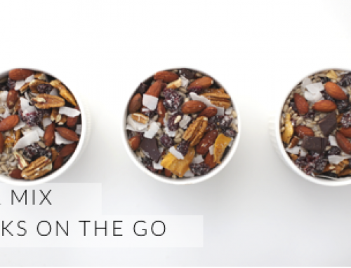 TRAIL MIX: ON THE GO SNACKS