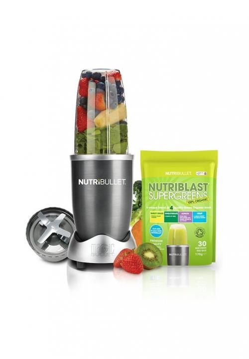 NutriBullet Blender and Nutriblast Supergreens